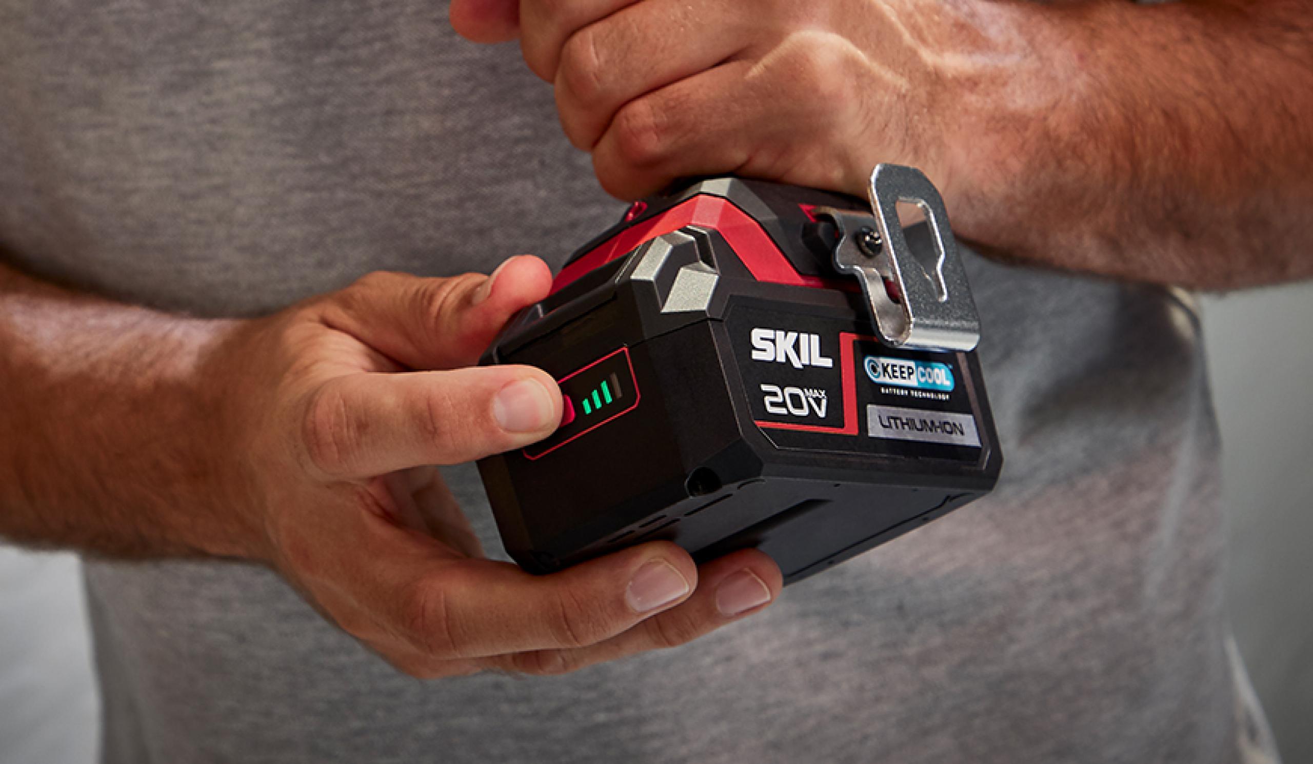 Patentirani indikator ravni napolnjenosti akumulatorja: indikator, ki mu lahko zaupate